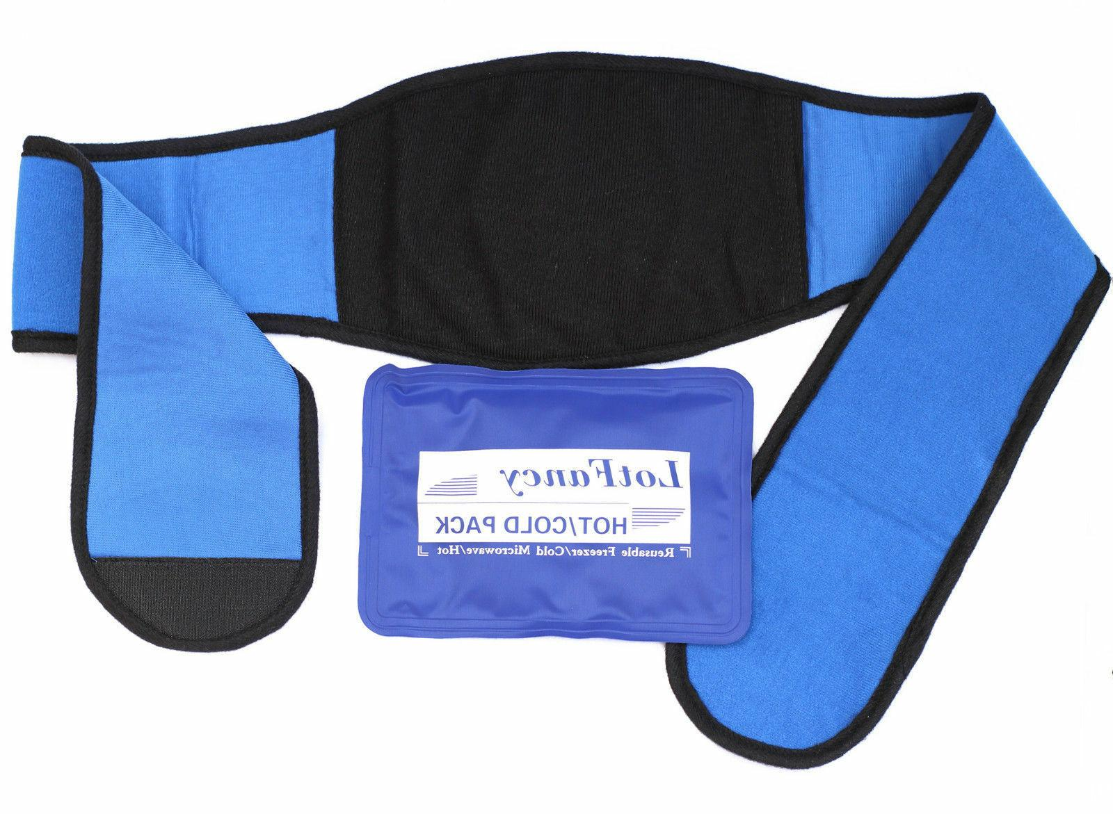 Reusable Ice Gel Pack Packs for Hot Cold Therapy Heat Wrist