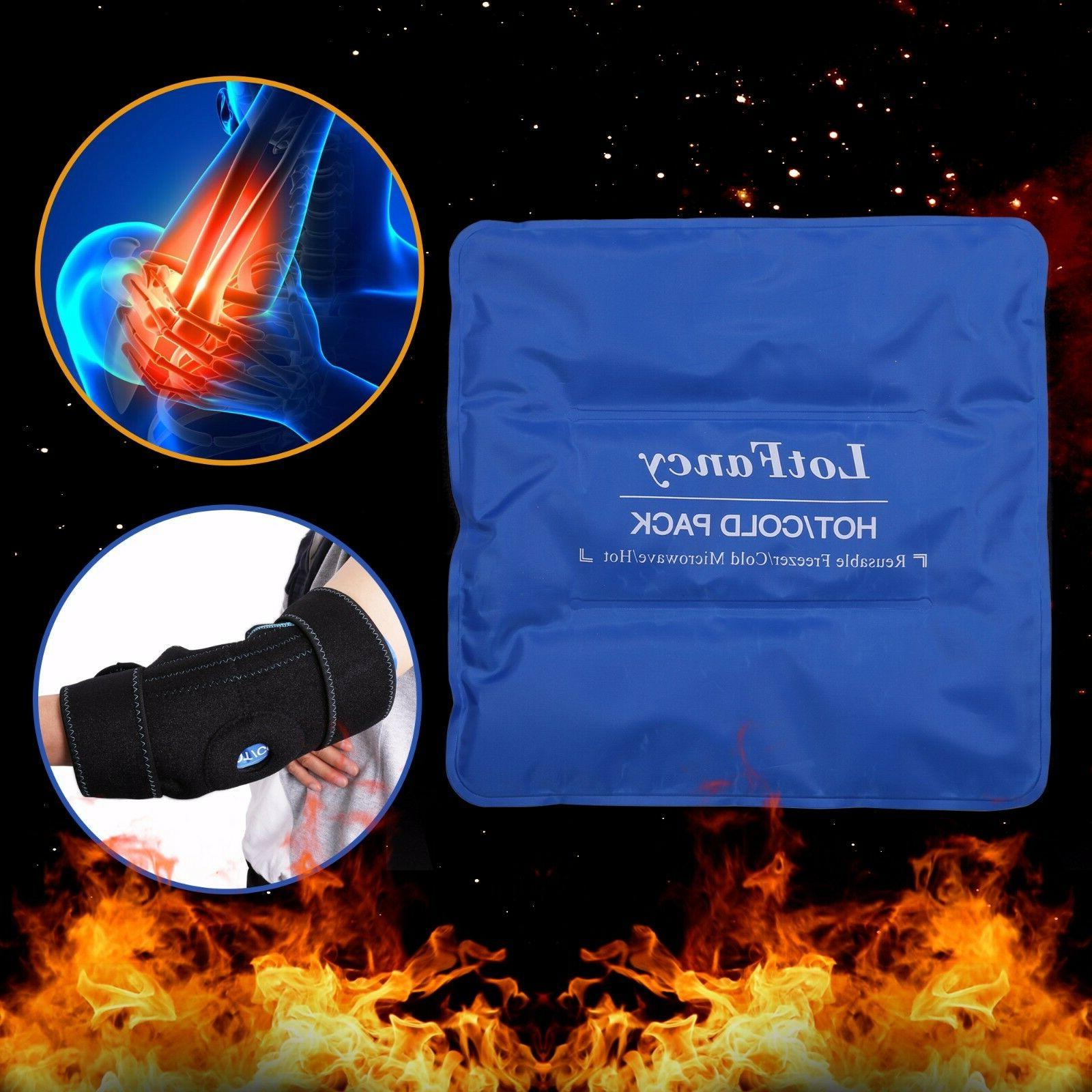 Arm Elbow Ice Support Wrap Brace Injuries