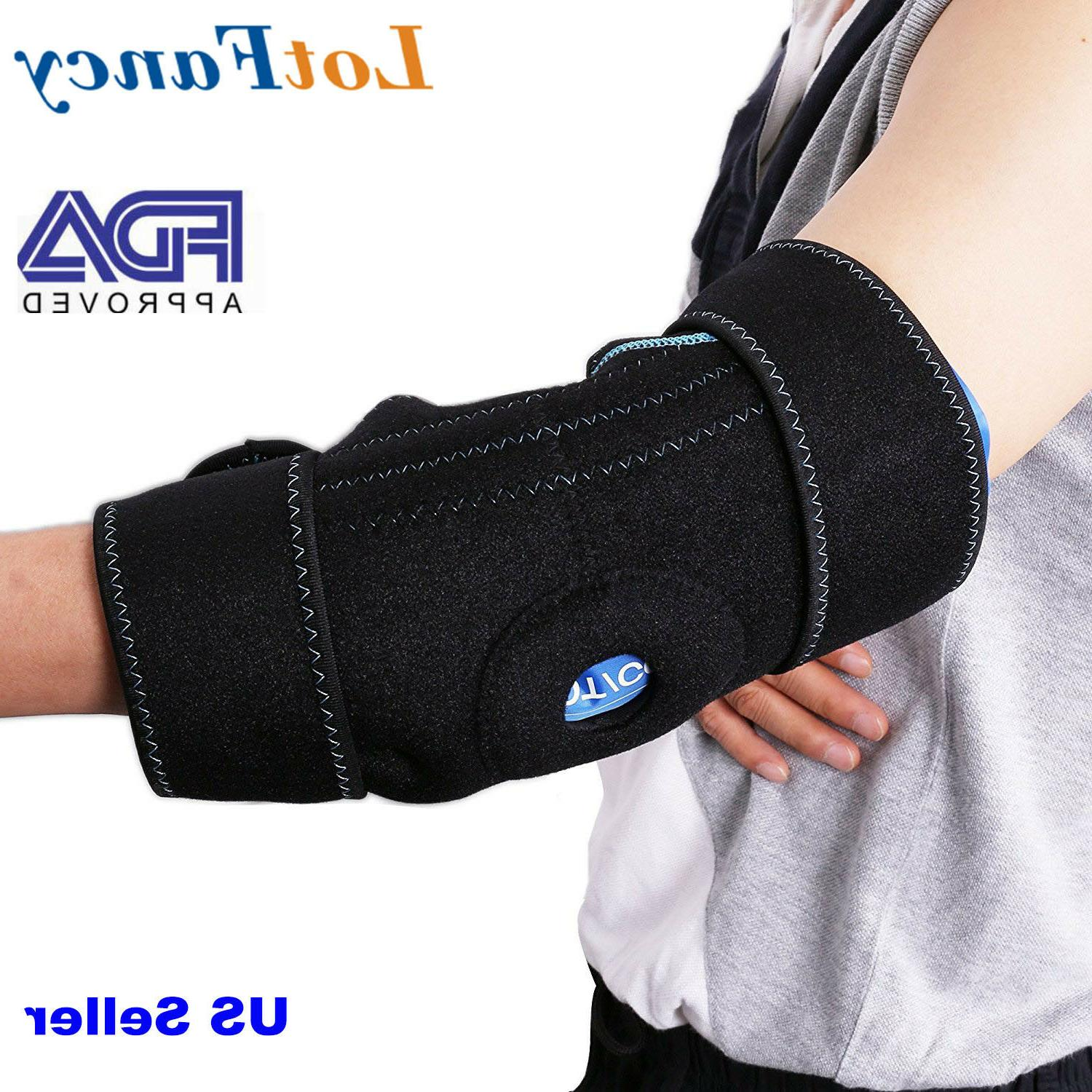 arm elbow ice pack gel wrap cold