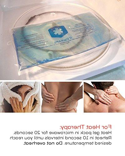 Blue Reusable Microwavable Hot Ideal Ice Pack Pain Aid by