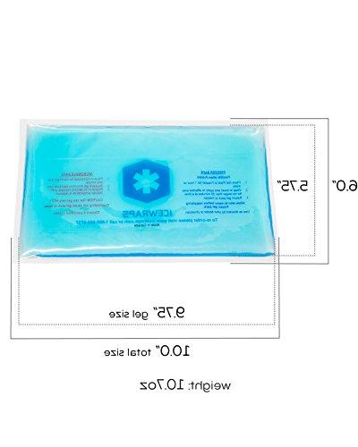 Blue 6x10 Reusable Ideal Pack Pain First Aid by