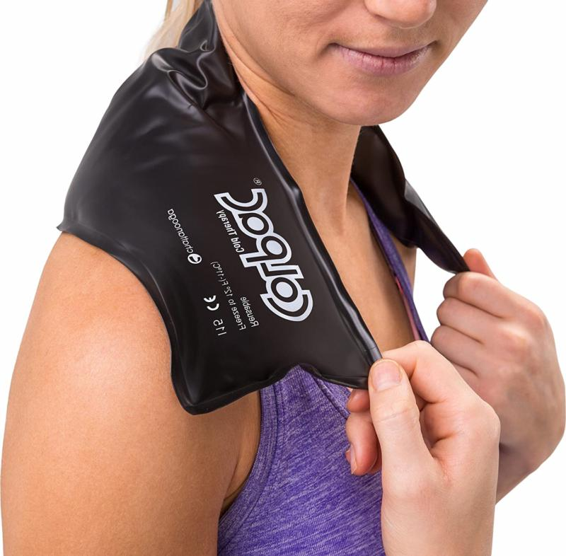 Chattanooga Colpac Gel Ice Pack Black - Contour - 21