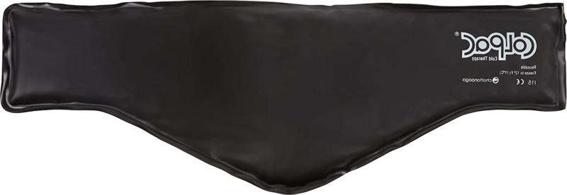 chattanooga colpac reusable gel ice pack black