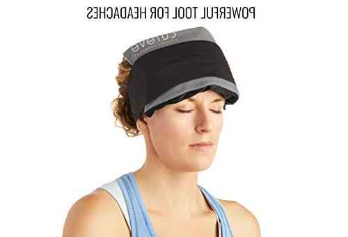Hot and Gel Pack Set with by Ice to Treat Injuries, and on Knee, Side, Back, Feet and Headaches