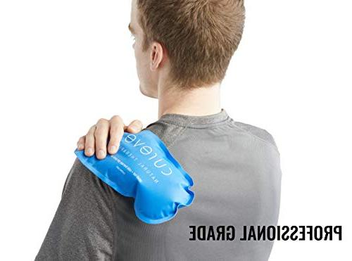 Hot and Gel Pack Pack Set by - Ice Wrap to and on Knee, Side, Shoulder, Feet Headaches