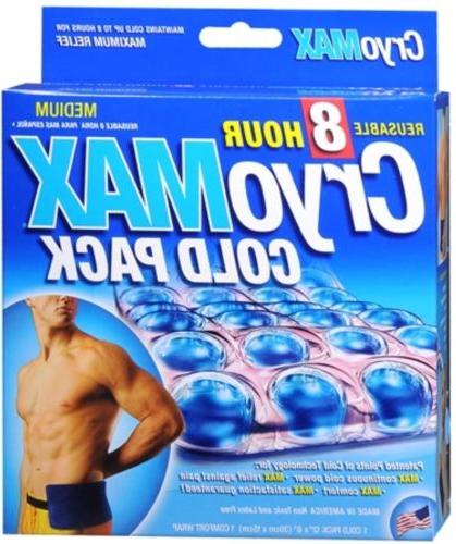 Cryo-MAX Cold Pack With Flexible Each