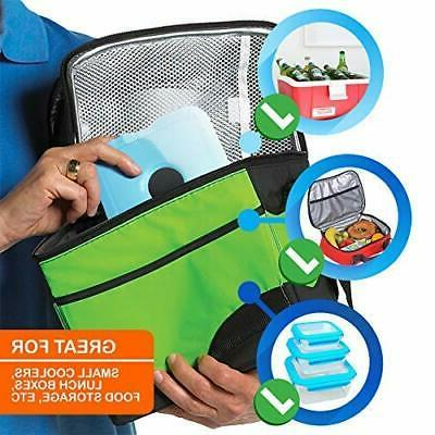 Cooler Pack-Thin Ice Packs for Lunch Box & Coolers