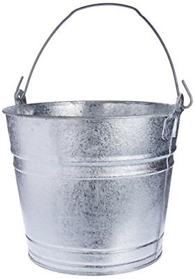 dipped galvanized pail