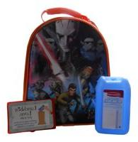 Disney Thermos Stat Wars Rebel Lunch Bag with Blue Ice Pack