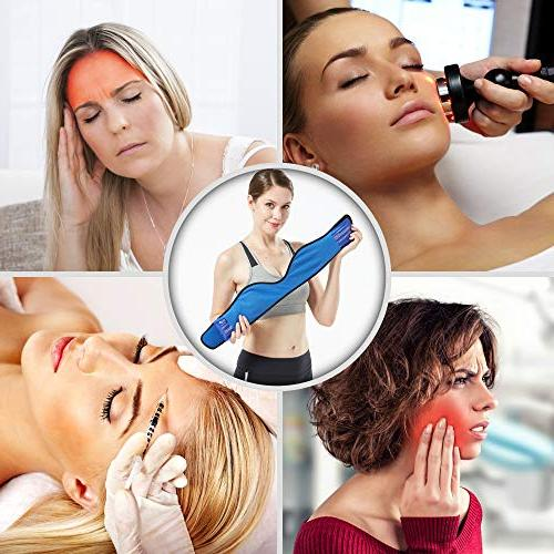 Face Pack Jaw, Head and Adjustable Hot and Wrap Teeth and Pain