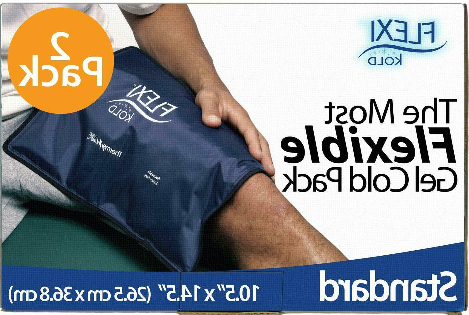 FlexiKold Gel Ice PackReusable Cold Therapy Packs