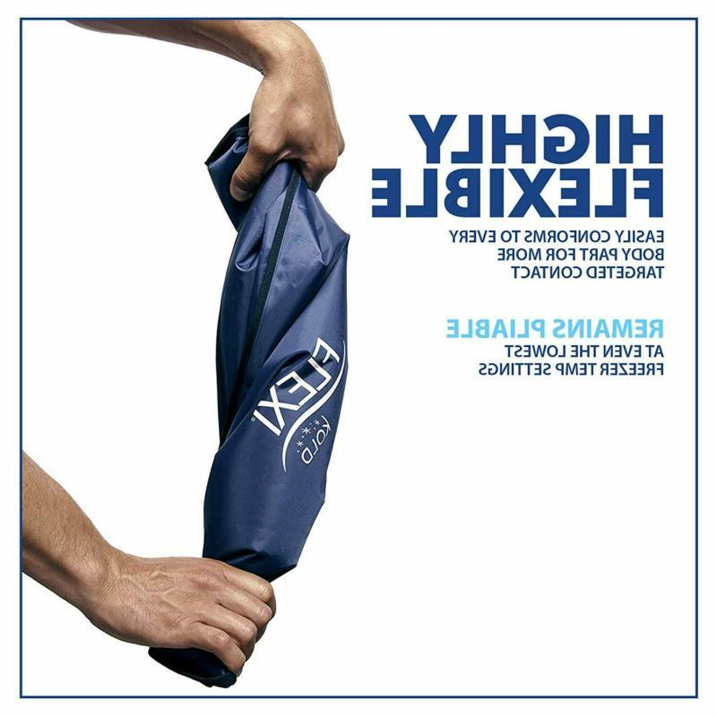 FlexiKold Ice Pack - Two Reusable Cold T