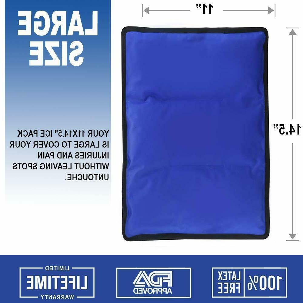 Gel Cold & Hot Pack 11x14 Warm Ice for