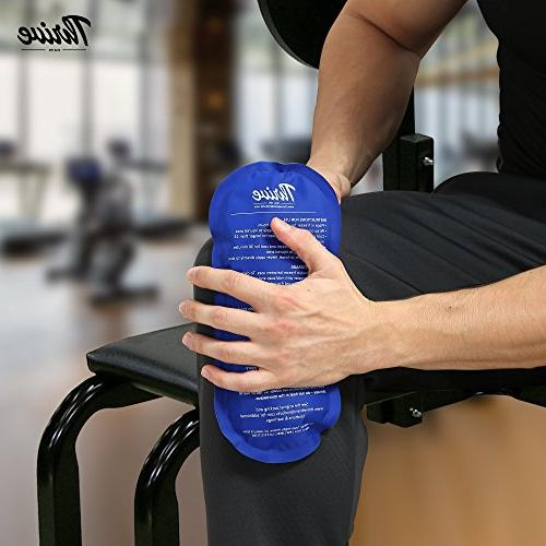 Gel – – comfortable soft touch instant pain and from injuries like knee, ankle