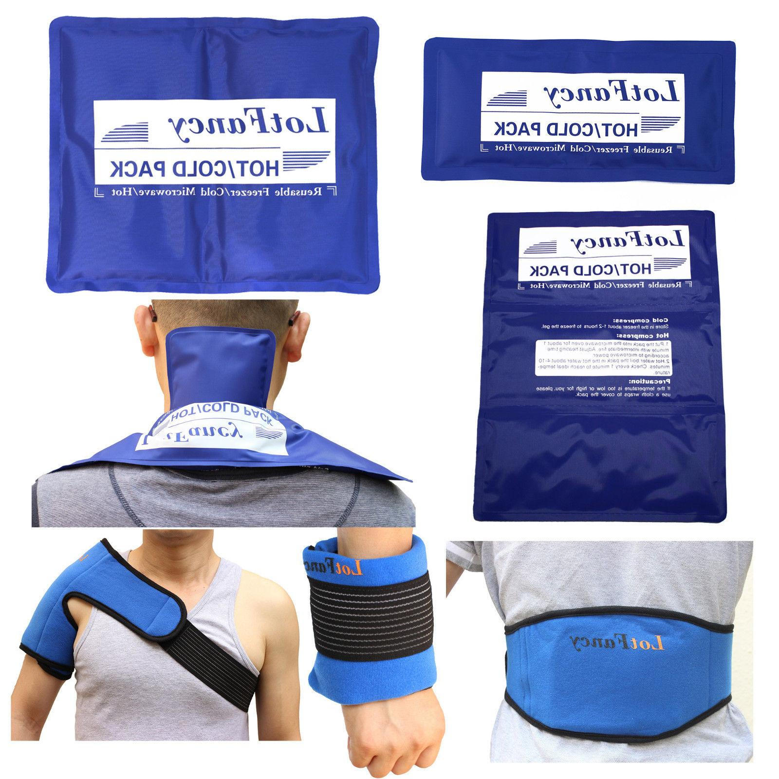 gel ice pack cold therapy wrap