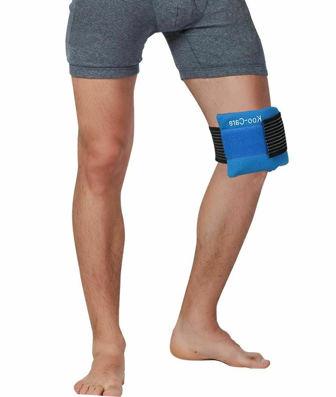 Gel Pack Hot Cold Therapy Velcro Muscle Relief Size