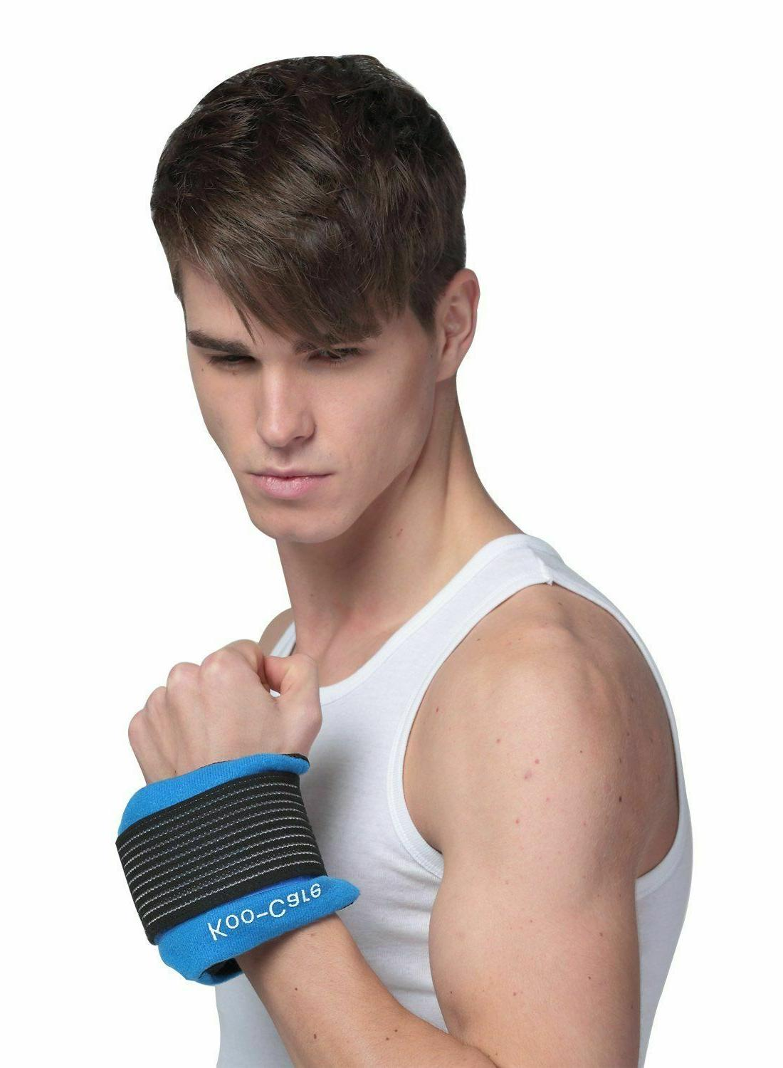 Gel Ice Hot Therapy Muscle Size
