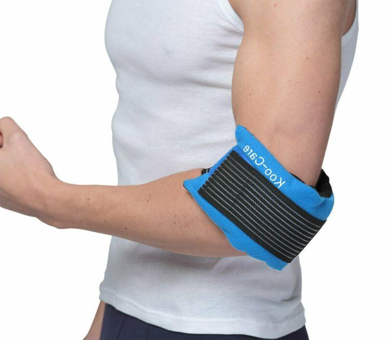 Flexible Gel and Wrap Strap Therapy Blue