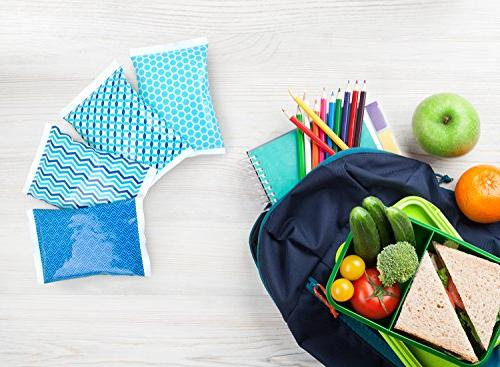 Ice for Lunch Boxes Reusable Packs - for Kids or Lunchbox