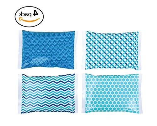 Ice Pack Boxes - Packs - Keeps Cold – Bag for Lunchbox and