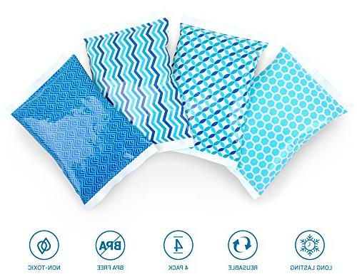 Ice Packs - Cold Cool Bag Designs - for Kids or Lunchbox Cooler