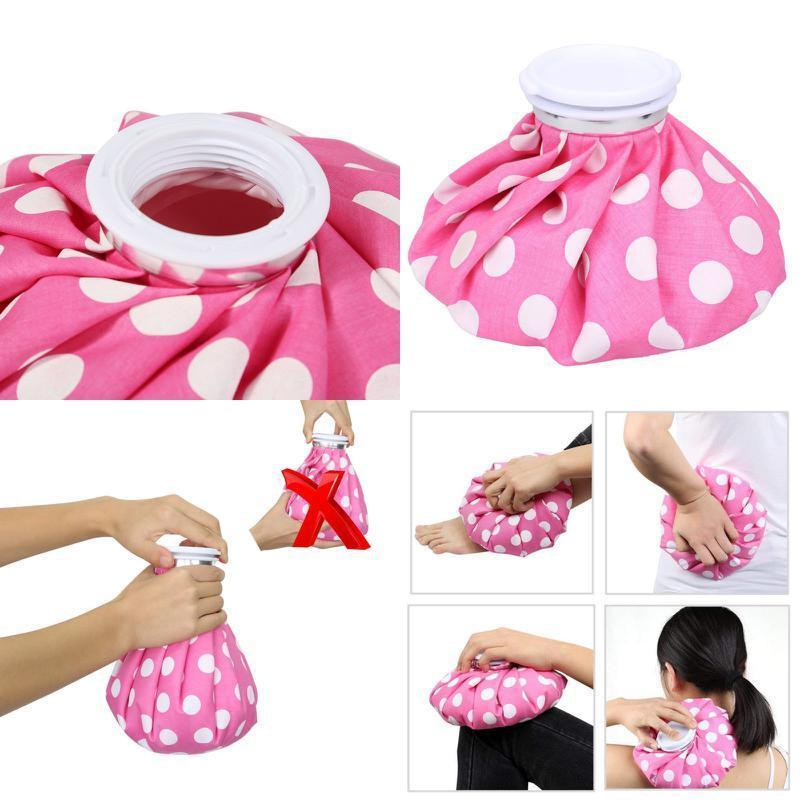 Ice Bag Hot Pack 9 Pink