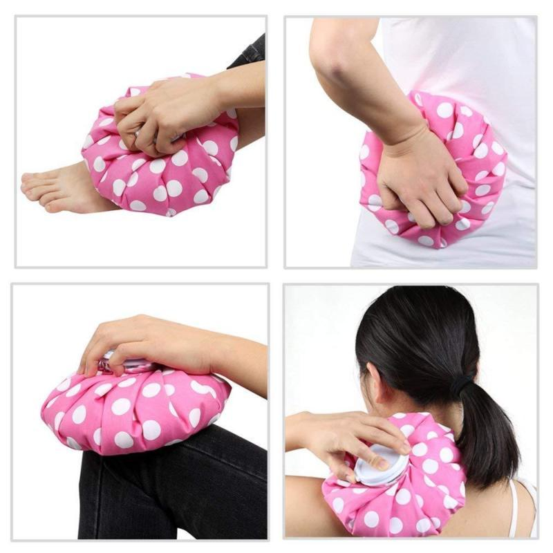 Ice Bag - Hot Cold Pack 9 inch Pink