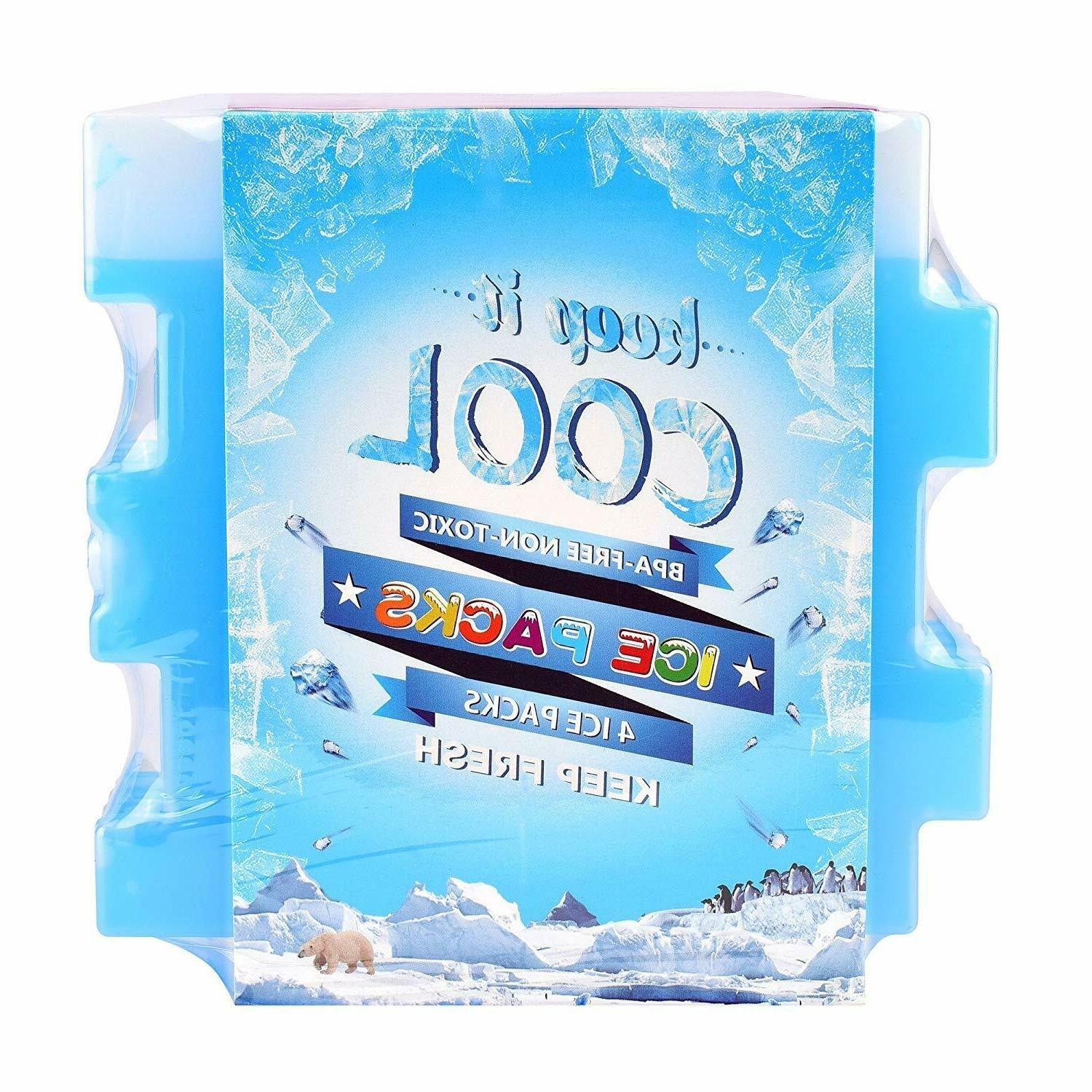 Ice Pack Pack Cooling Bag Lunch Refrigeration