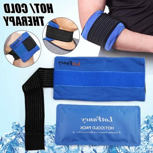 ice gel pack with soft wrap