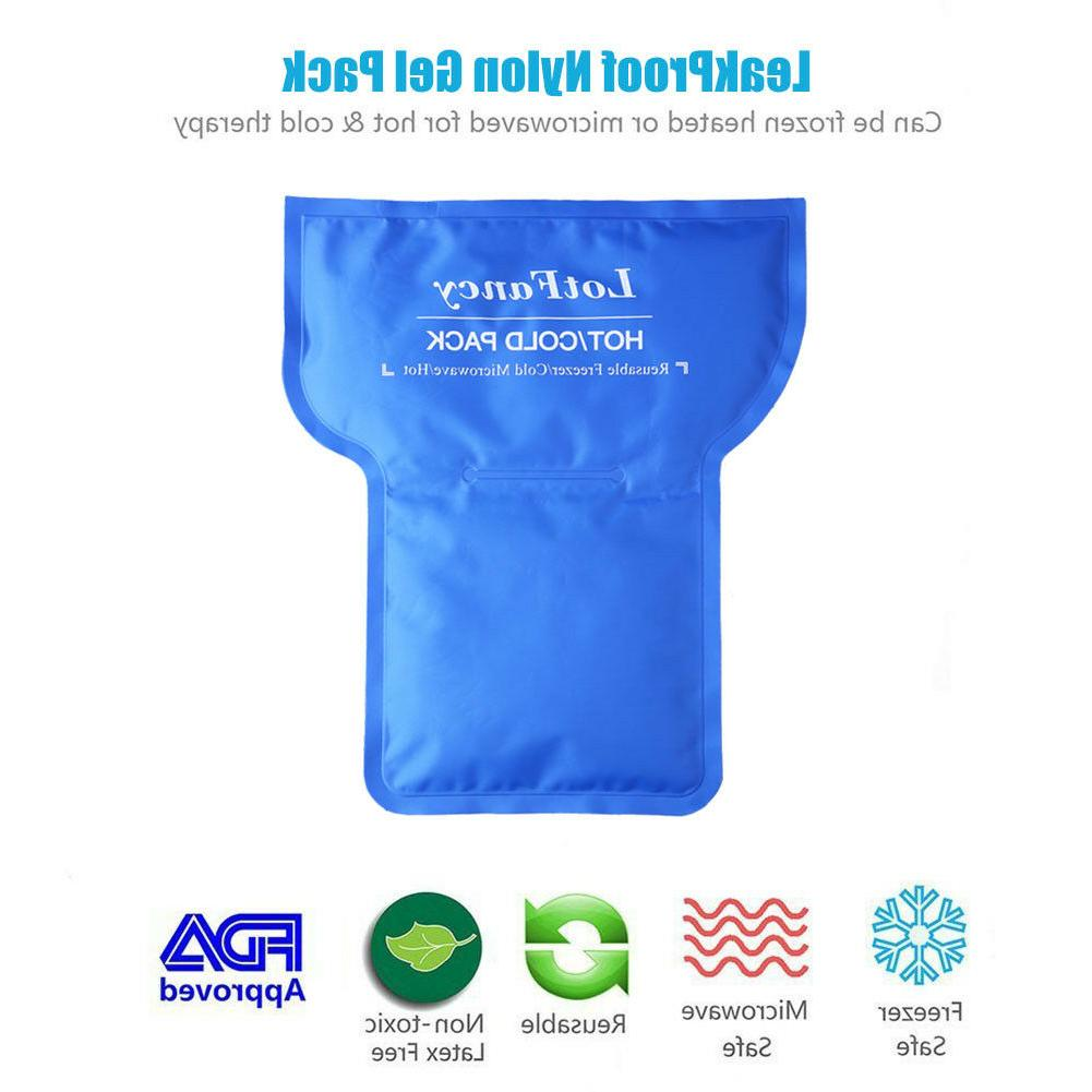 Ice Pack Gel Hot Therapy Shoulder Knee Back Pain Relief