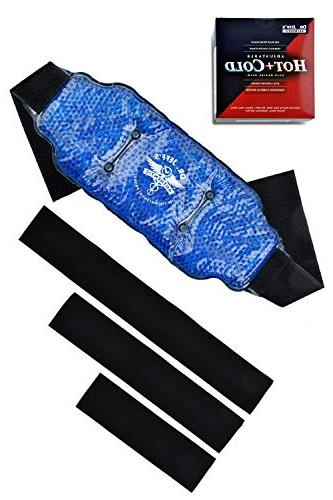 Flexible Hot Pain Ice for Dual Sided Plush Hot Gel Beads for Extension Straps