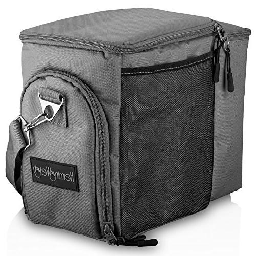 HemingWeigh Box - Durable Bag Compartments Food Containers & Ice Pack