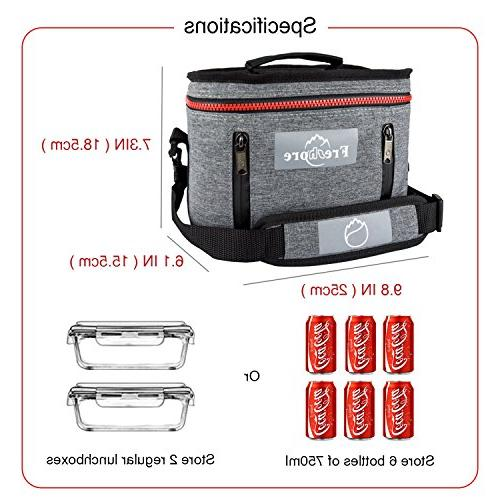 ce9fa2fee184 Freshore Insulated Lunch Kit Tote Slim Box Small