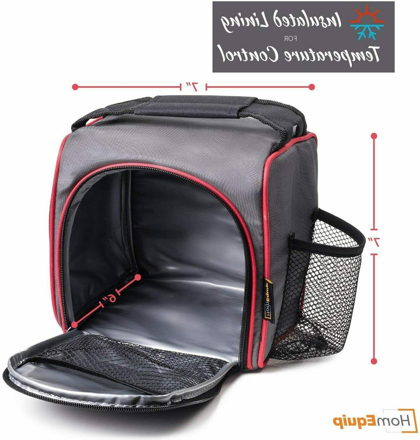 Insulated Meal Prep Bag + Pack