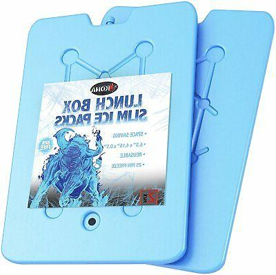 kona ice packs for lunch boxes reusable