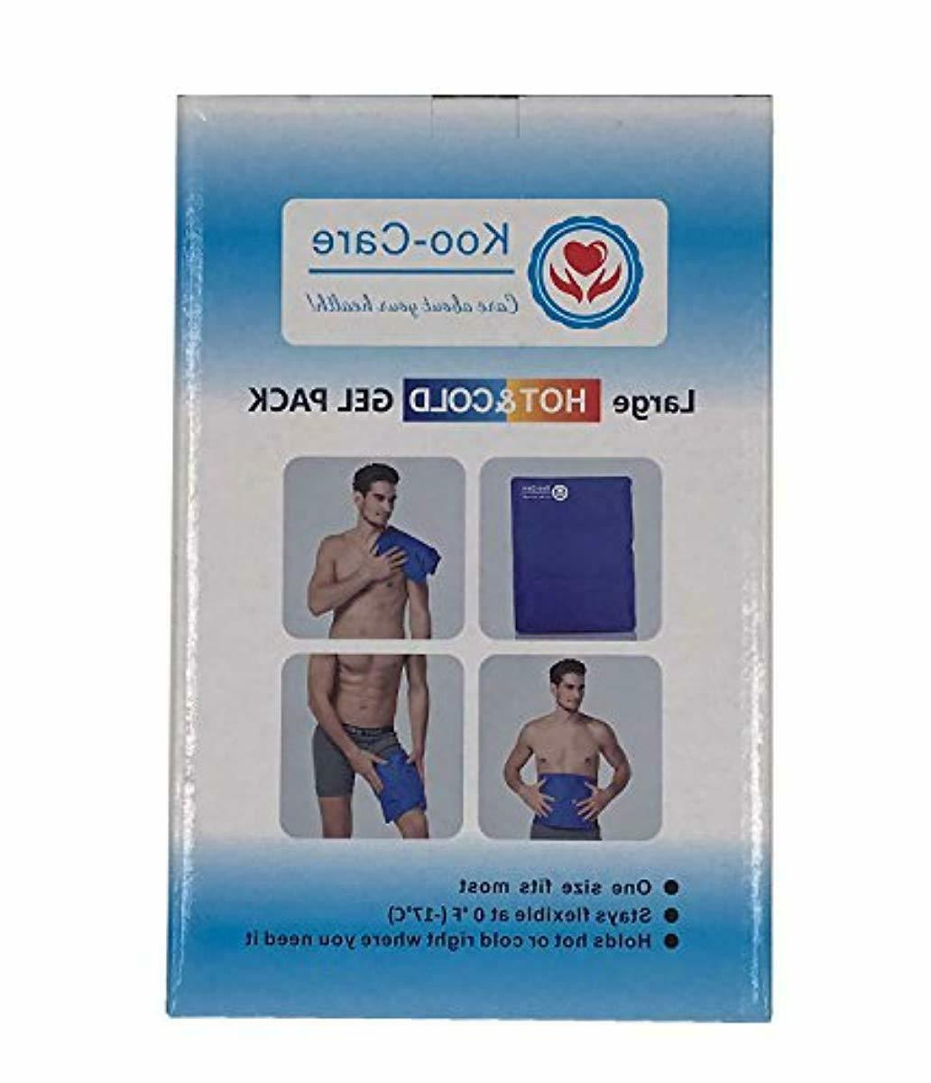 Koo-Care Gel Ice Hot Cold Therapy