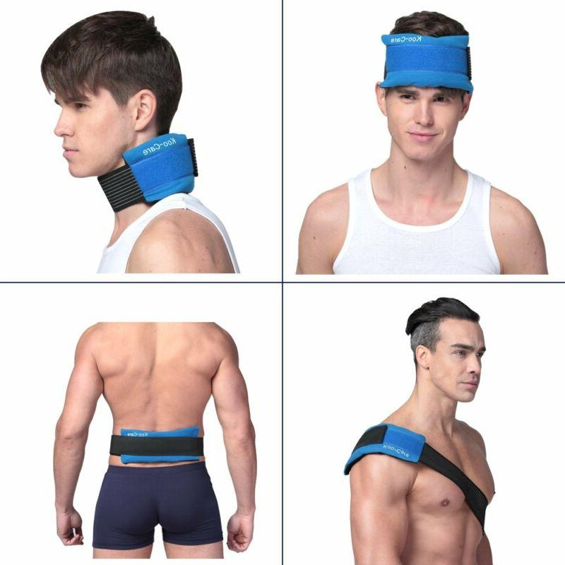 Koo-Care Flexible Gel Pack Strap For Therapy