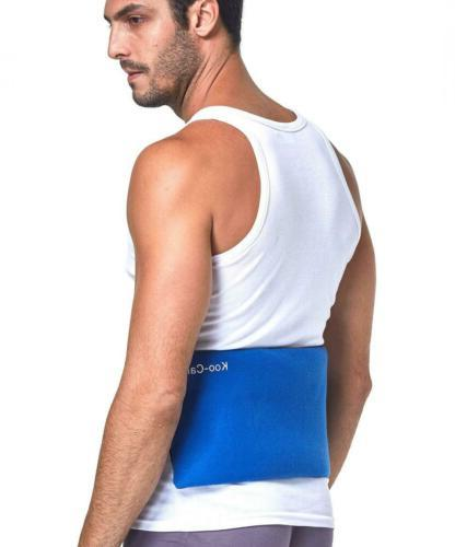 Koo-Care Large Ice Pack Wrap Hot Cold Therapy x 7.3 Inch
