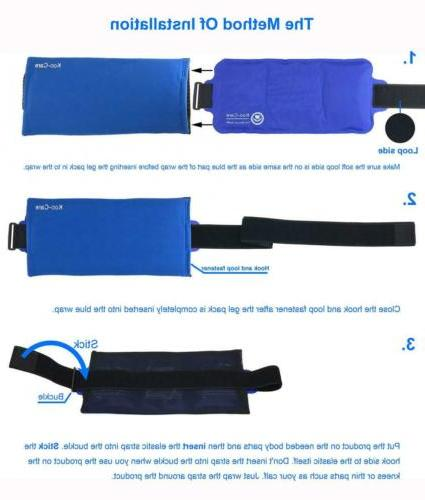 Koo-Care Large Pack Wrap Hot Therapy x 7.3 Inch