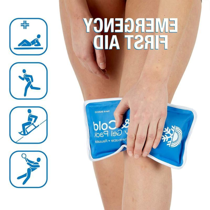 Large Cold Reusable Pain Relief Compress New