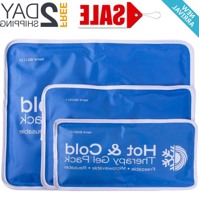 large cold therapy pad reusable gel ice