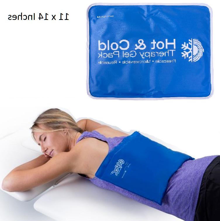 large cold therapy pain relief pad reusable