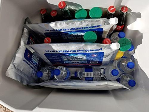 """Cooler Shock Lg. Zero°F 10""""x14"""" - Ice Replaces is Reusable Fill - You Add Water 12lbs Total"""