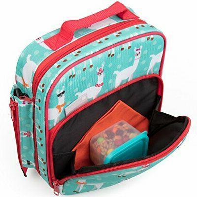 Bentology Bag and Box for Girls - Includes with Handle,