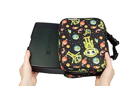 Box - Insulated with Bento 5 Containers and Pack Alien