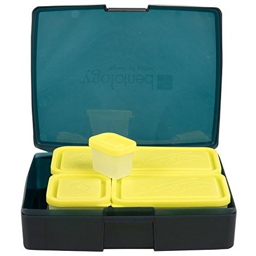 Bentology Bag Box - Includes Insulated with 5 and Ice Pack - Alien