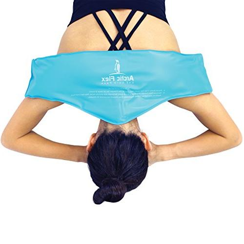 Neck Ice by Arctic Compress Therapy Wrap Cool,