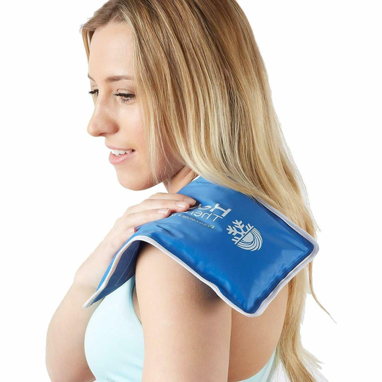 new Therapy Reusable Ice Back Compress