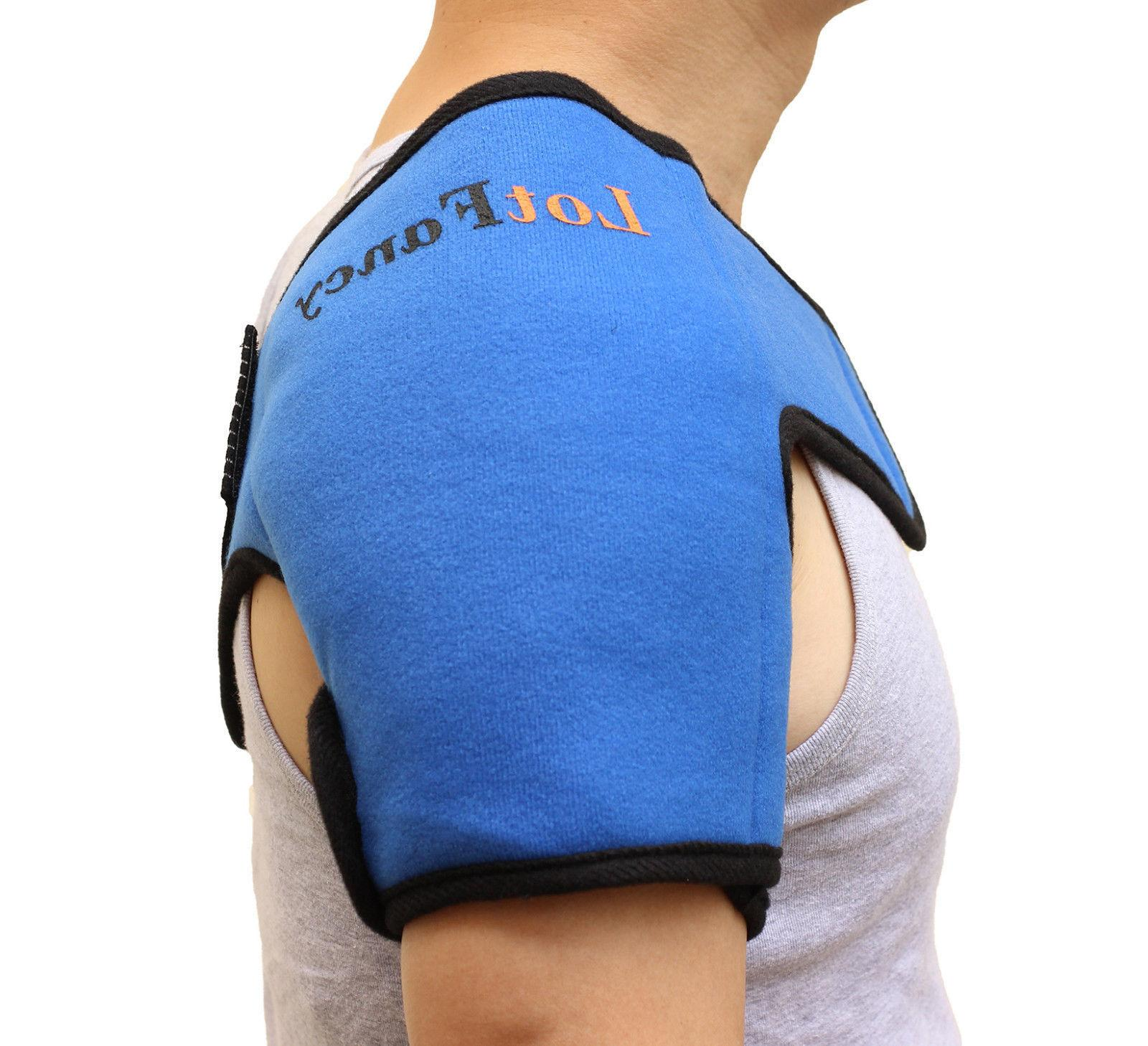 Reusable Hot Cold Ice Gel Pack Heat Therapy Wrap Shoulder Pa