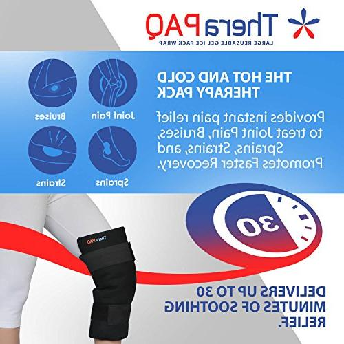 Large Reusable Pack with by TheraPAQ & Cold Shoulder, Knee Pain for Recovery, Swelling, &